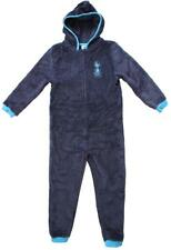 Mens Official Tottenham Hotspur Spurs Hooded Fleece Zipper Sleepsuit  S M L XL