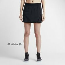 Nike Nike Court Donna Gonna Shorts XS Erica Nero Palestra Tennis Casual Nuovo