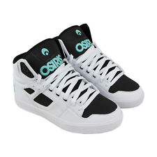 Osiris Clone Mens White Leather Sneakers Lace Up Skate Shoes