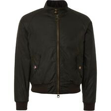 BARBOUR INT.L MERCHANT WAX JACKET BOMBER STEVE McQUENN GIACCA CERATA M L XL XXL