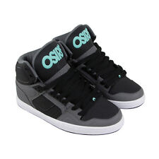 Osiris Nyc 83 Clk Mens Gray Leather Sneakers Lace Up Skate Shoes