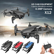X12 plegable Drone 0.3MP cámara FPV WiFi 2.4G volver Quadcopter juguete regalo