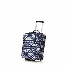 Roxy Wheelie Womens Luggage - Dress Blues Geometric Feeling One Size