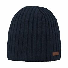 Barts Haakon Homme Couvre-chefs Bonnet - Navy Une Taille