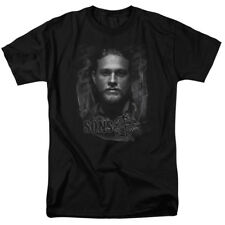 Sons Of Anarchy Jax Mens Short Sleeve Shirt Black