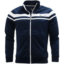 Weekend Offender Navy Full Zip Track Top Jumper - Ketchel