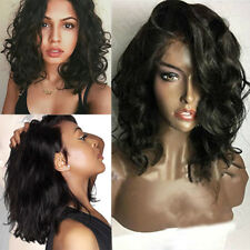 Glueless Full Lace Wig Lace Front Wigs Silk  Best Peruvian Human Hair
