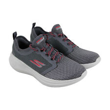 Skechers Agility Perfect Fit Womens Gray Textile Athletic Training Shoes