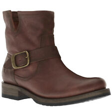 Frye Veronica Bootie Leather Casual Buckle Ankle Womens Boots