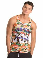 Jor 0248 Pineapple Men's Tank Top Muscle Shirt Multicolour Training A