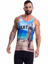 Jor 0403 Men's Tank Top Muscle Shirt Muscle Shirt Sexy T-Shirt Vest Maintains