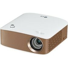NEW! Lg Ph150G 3D Led Projector 720P Hdtv 16:9 Front Ceiling Led 30000 Hour Norm