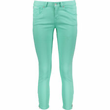 Womens Superdry Low Rise  Skinny Crop  Jeans Mint Green size W26  RRP £37
