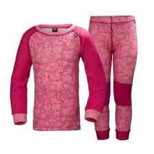 Helly Hansen HH Lifa Merino Set Kids Bright Rose 48610_127/