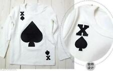 T-shirt manches longues Style Poker AS de pique - original - 3-4-5-6-7-8 ans