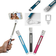 Recharge Bluetooth Remote Monopod Tripod Selfie Stick For Samsung iPhone SonyHTC