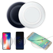 Qi Wireless Fast Charger Charging Pad For Samsung Note 8 S9 8 7 iPhone X 8 Plus