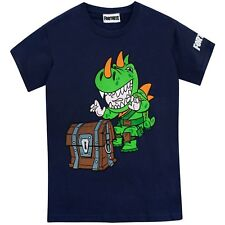 Fortnite T-Shirt | Boys Fortnite Rex Top | Kids Fortnite Battle Royale Game Tee
