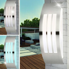 Led Acero Inox. Luz de Pared Regulable RGB Mando a Distancia Exterior Big Light