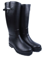 Aigle Aiglentine Faux Fur Lined Womens Boots Wellies - Black All Sizes