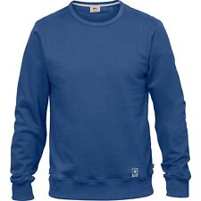 Fjallraven Greenland Homme Pull Sweater - Deep Blue Toutes Tailles