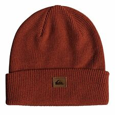 Quiksilver Performed Homme Couvre-chefs Bonnet - Barn Red Heather Une Taille