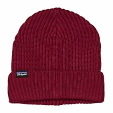 Patagonia Fishermans Rolled Homme Couvre-chefs Bonnet - Oxide Red Une Taille