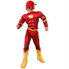 Boys DC Comics Deluxe Child Flash Rubies Fancy Dress Costume