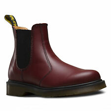 Dr Martens 2976 Unisex Cherry Red Smooth Chelsea Ankle Boots