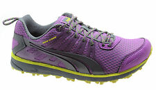 Puma Faas 300 TR Womens Trainers Running Shoes Purple Mesh Lace Up 186531 05 D31