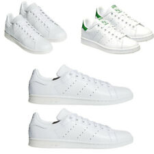 Mens Adidas Originals Stan Smith Trainers Casual Shoes White/Green Size 7 8 9 10