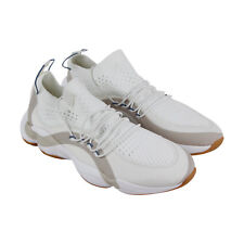 the best attitude 1b6bd 2a232 Reebok Dmx Fusion Mens White Textile Athletic Lace Up Training Shoes