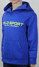 Polo Ralph Lauren Sport Royal Blue Green Athletic Hoodie NWT
