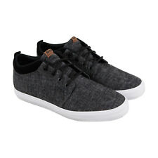 Globe Gs Chukka Mens Black Textile Sneakers Lace Up Skate Shoes