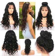 Cheap Sell Virgin Lace Front/Full Lace Curly Wave Human Hair Wigs With Baby Hair