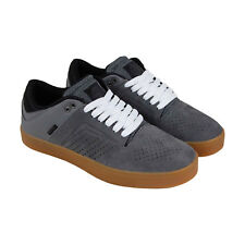 Osiris Techniq Vlc Mens Gray Suede Sneakers Lace Up Skate Shoes