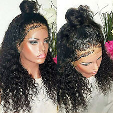 Glueless Lace Front Human Hair Wig Deep Curly Front Lace Wigs with Baby Hair