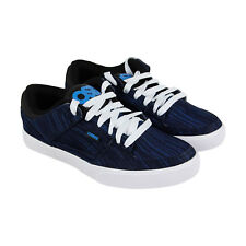 Osiris Protocol Mens Blue Textile Sneakers Lace Up Skate Shoes