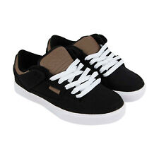 Osiris Protocol Mens Black Textile Sneakers Lace Up Skate Shoes