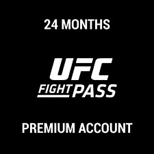 UFC FIGHT PASS PREMIUM SUBSCRIPTION / 24 MONTHS / INSTANT DELIVERY / WORLDWIDE