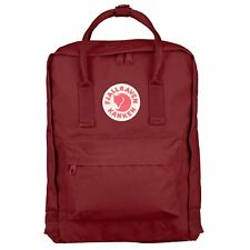 Fjallraven Kanken Classic Unisexe Sac à Dos - Ox Red Une Taille