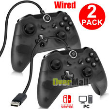 1/2xWired Controller Gamepad Joypad Remote Vibration for Nintendo Switch Console