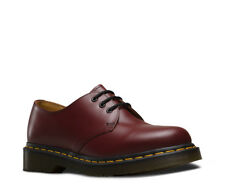 Dr Martens 1461 Cherry Red Smooth Unisex Lace Up Shoes