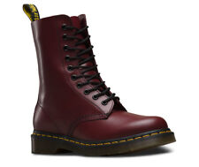 Dr Martens 1490 Cherry Red Unisex Ankle Boots
