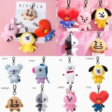 KPOP BTS BT21 PLUSH DOLL KEYCHAIN ALL CHARACTER [USA]-FREE SHIPPING, BRAND NEW
