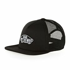 Vans Classic Patch Trucker Hat Black Cork One Size Fits Most Retail ... 143e4052a34a
