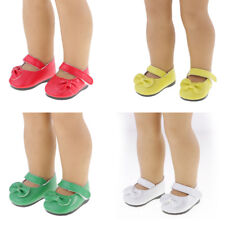 Shoes Clothes for 18'' American Girl Doll Our Generation Life Flats Sticky Strap