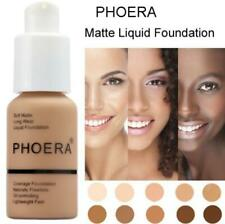Phoera Perfect Beauty 30ml Liquid Foundation Base Soft Matte Long Wear Oil Contr