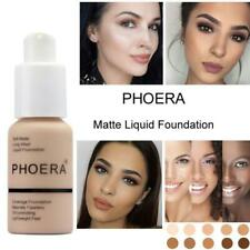 PHOERA New 30ml Matte Oil Control Concealer Liquid Foundation pallet shadows mak