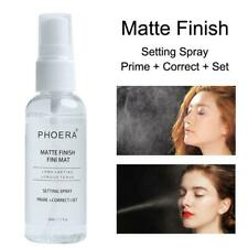 PHOERA 50ml Makeup Setting Spray Moisturizing Long Lasting Foundation Fixer Matt
